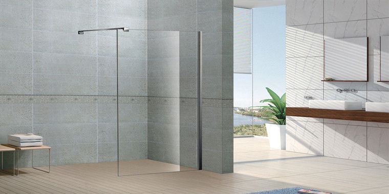 D Shaped Shower Enclosure