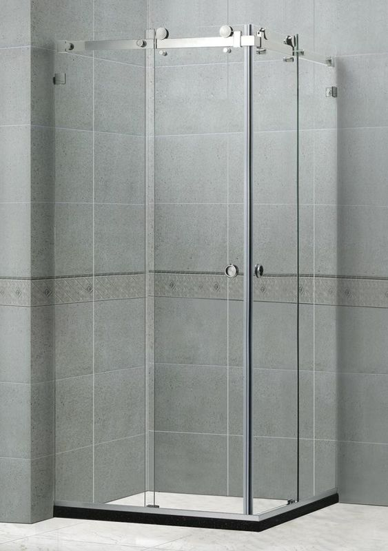 Self - Cleaning Frameless Shower Enclosures 10MM For Home / Villa CE Certification