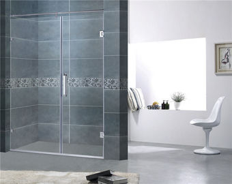 Customized Frameless Shower Enclosures 8MM Easy Clean Tempered Glass CE Certification