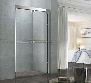 Chromed Finished Stainless Steel Shower Enclosures Double Sliding With Frames and Accessories