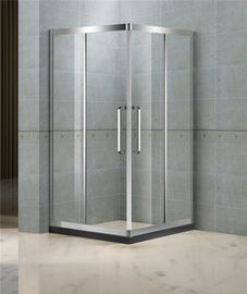900x900 Square Shower Enclosure Clear Tempered Glass CCC Certification