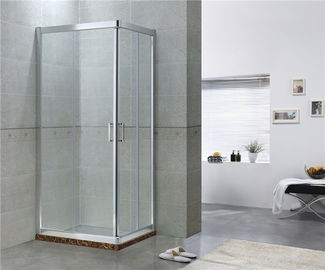 Simple Aluminum Alloy Square Shower Enclosure Easy Clean CCC Certification