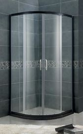 Curved Glass Small D Shaped Shower Enclosures / Freestanding Shower Enclosure SGCC