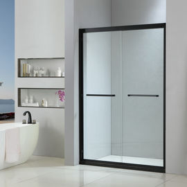 Stainless steel shower enclosure 1400*2000 with double sliding doors